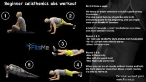 Beginner Calisthenics Abs Workout