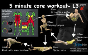 5 minute core workout L3