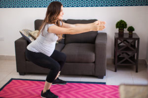 stay fit while pregnant
