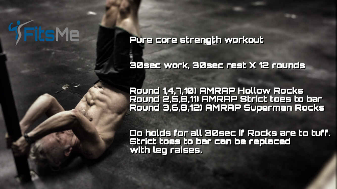 Pure core strength workout