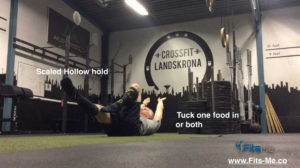scaled hollow holds