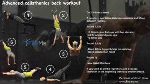 advanced calisthenics back workout