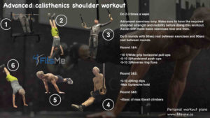 calisthenics shoulder workout