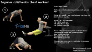 Beginner calisthenics chest workout