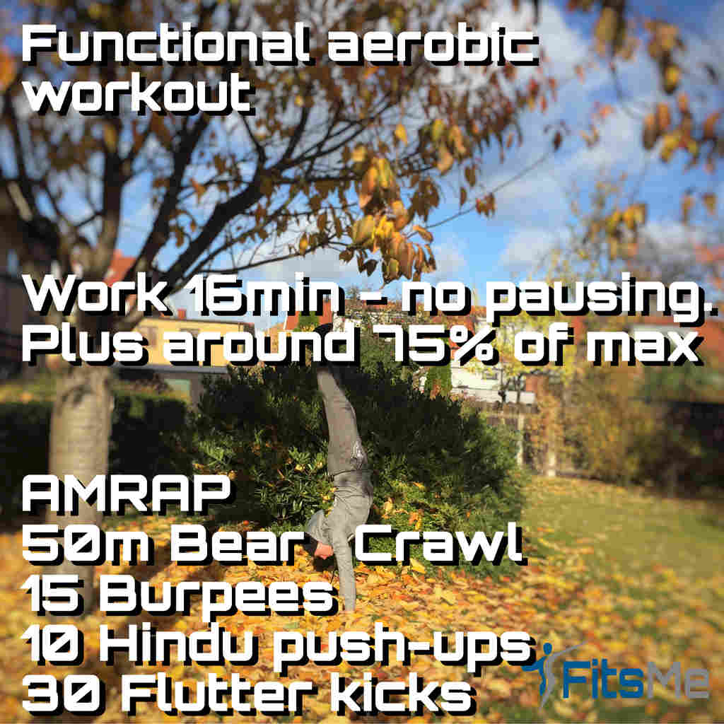 Functional aerobic workout