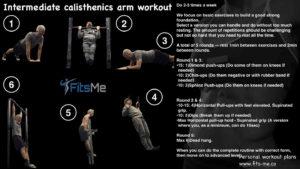 calisthenics arm workout
