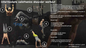 intermediate calisthenics shoulder workout