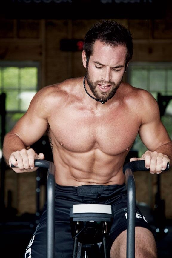 Rich Froning on Air Bike