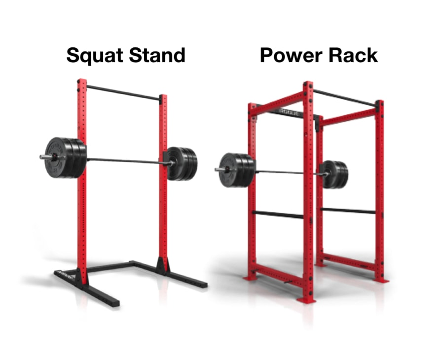 Squat rack vs power rack and how to select the right rack for A squat rack
