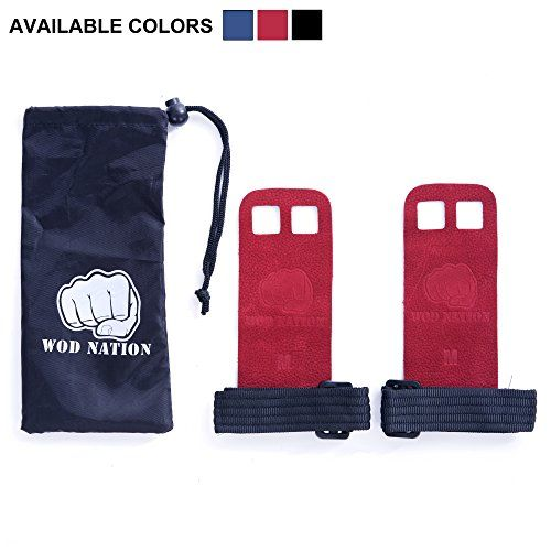 Leather Barbell Gymnastics Grips by WOD Nation