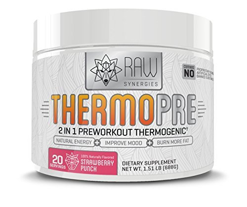 Thermo Pre Workout-All Natural Pre-workout Thermogenic Fat Burner